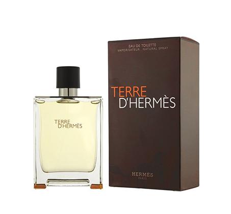 """בושם לגבר TERRE D'HERMES א.ד.ט 100 מ""""ל Hermes"""