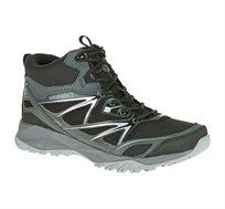 נעלי הליכה וטיולים לגבר MERRELL דגם J35359 בצבע שחור/ אפור/ כסוף