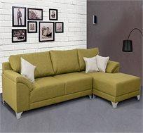 מערכת ישיבה פינתית בעיצוב צעיר ומודרני הנתמכת בשלדת עץ דגם בוסיני VITORIO DIVANI