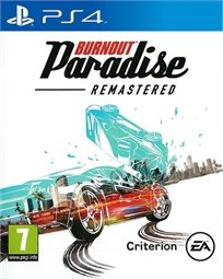 Burnout Paradise Remasted Ps4 במלאי! אירופאי!