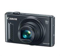 מצלמת Canon Power Shot SX610 HS עם זום אופטי 18X , מסך בגודל 3 אינץ', 20.2 מגה פיקסל, WI-FI ו-NFC