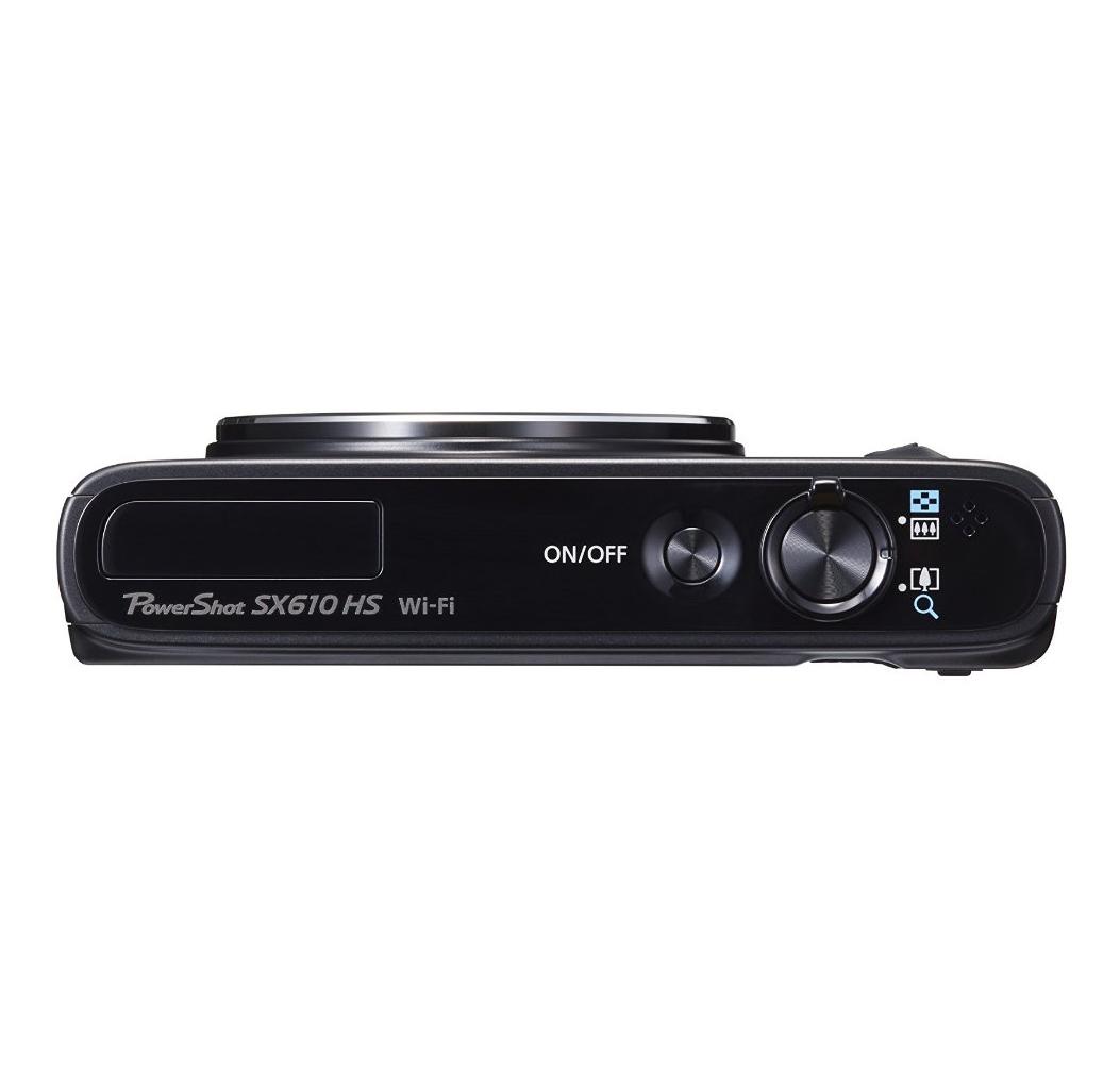 מצלמת Canon Power Shot SX610 HS עם זום אופטי 18X , מסך בגודל 3 אינץ', 20.2 מגה פיקסל, WI-FI ו-NFC - משלוח חינם - תמונה 6