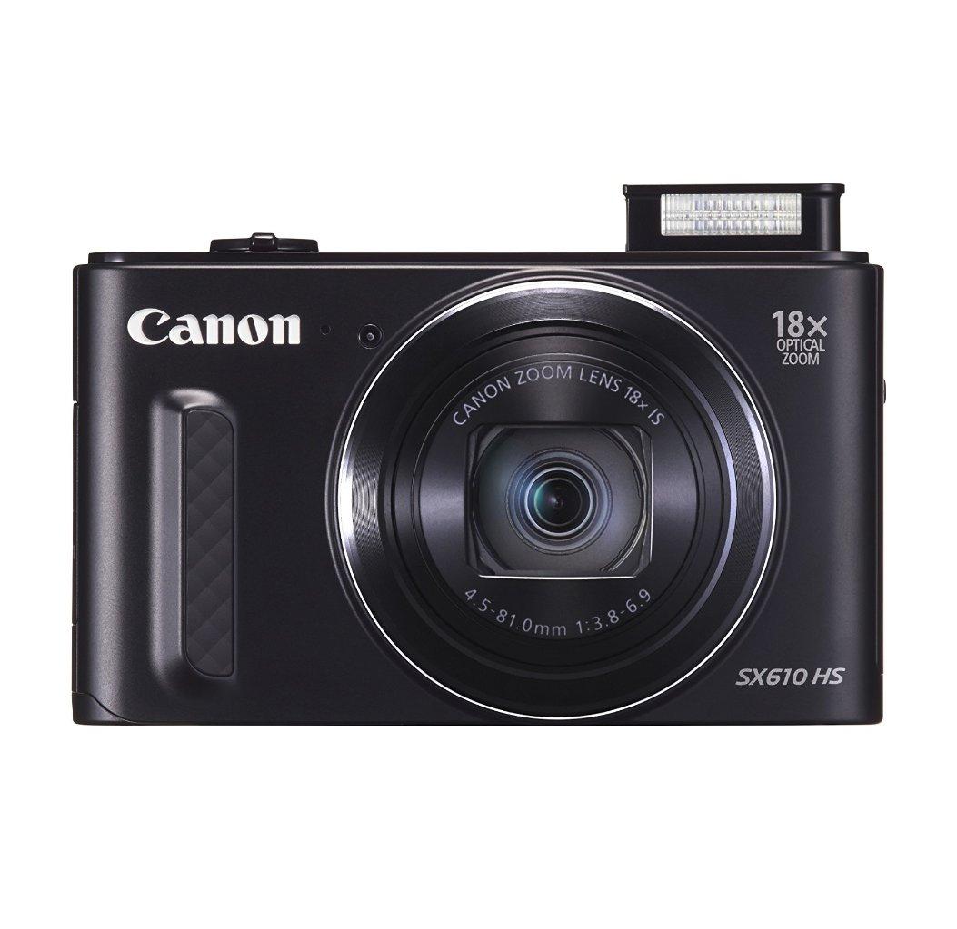 מצלמת Canon Power Shot SX610 HS עם זום אופטי 18X , מסך בגודל 3 אינץ', 20.2 מגה פיקסל, WI-FI ו-NFC - משלוח חינם - תמונה 2