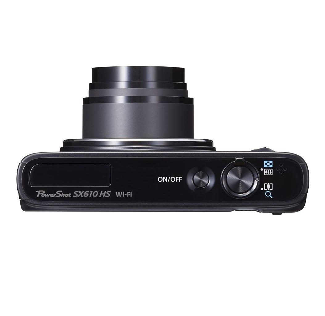 מצלמת Canon Power Shot SX610 HS עם זום אופטי 18X , מסך בגודל 3 אינץ', 20.2 מגה פיקסל, WI-FI ו-NFC - משלוח חינם - תמונה 5