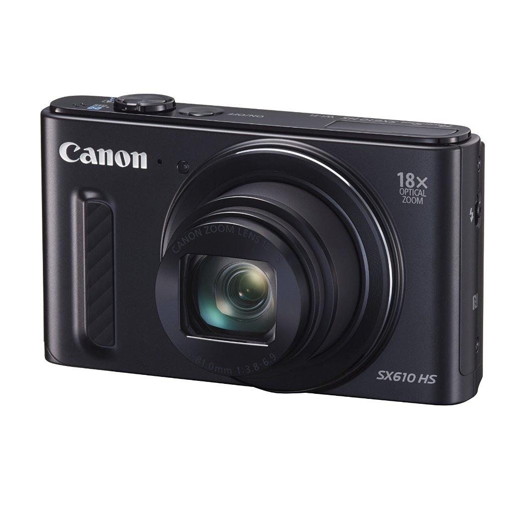 מצלמת Canon Power Shot SX610 HS עם זום אופטי 18X