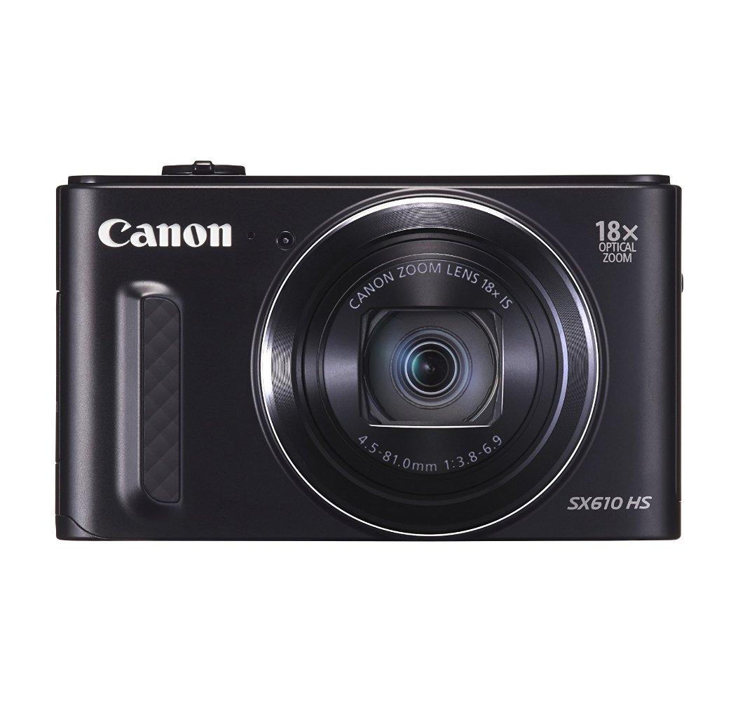מצלמת Canon Power Shot SX610 HS עם זום אופטי 18X , מסך בגודל 3 אינץ', 20.2 מגה פיקסל, WI-FI ו-NFC - משלוח חינם - תמונה 3