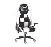 כיסא גיימינג הורייזון  RACER לבן