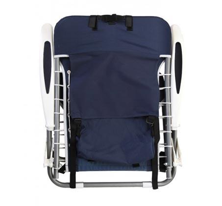 כיסא חוף מתקפל GURO עם מסגרת אלומיניום - משלוח חינם - תמונה 2