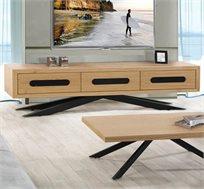 מזנון לסלון בעיצוב מודרני בעל שלוש מגירות דגם טריפל
