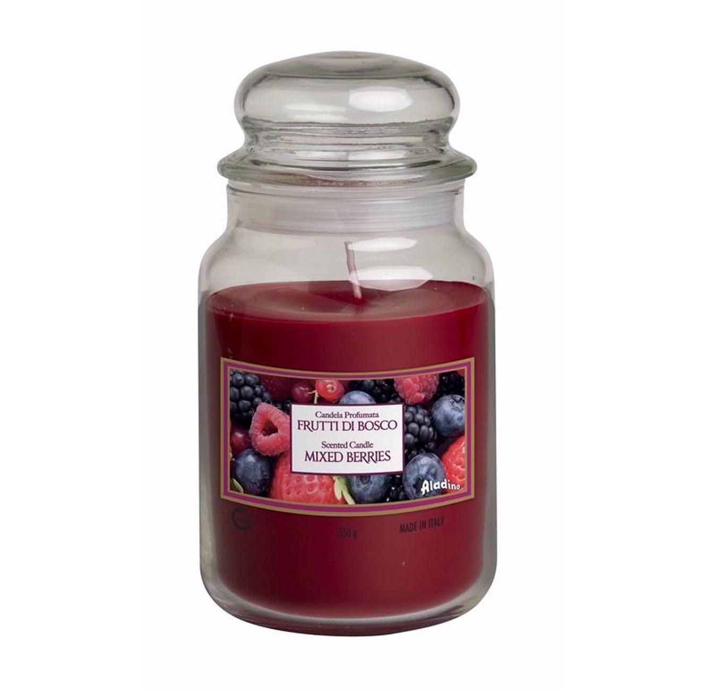 נר ריחני בניחוח Mixed Berries בגדלים לבחירה