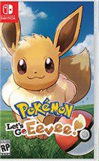 Pokemon Let's Go Eevee ! Nintendo Switch פוקימון