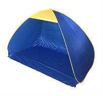 אוהל צל בפתיחה מהירה - כחול/צהוב