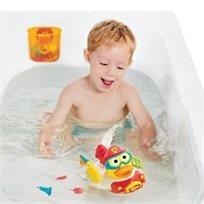 צעצוע אמבט ברווז סילון מים כבאי Jet Duck Firefighter