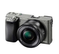 מצלמת SONY סטילס דיגיטאלית מסדרת אלפה ללא מראה עם עדשות מתחלפות דגם ILC-E6000YB