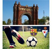 המשחק שיעשה לכם את החופשה! ברצלונה מול אייבר כולל 3 לילות בברצלונה החל מכ-€599* לאדם!