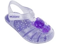Zaxy ילדים // Gummy Bear Baby Glitter Clear Silver