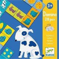 משחק דומינו - חיות - Djeco