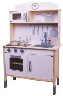 המטבח שלי - מטבח גדול לילדים עם סט כלים מעץ