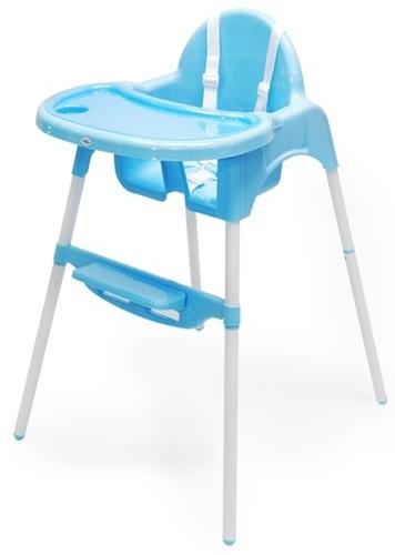 כיסא אוכל 2 גבהים עם מגש נשלף - כחול