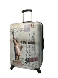 סט 3 מזוודות קשיחות קלות מאד New York