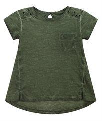 חולצת סינגל סלאב עם תחרה