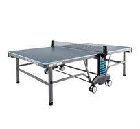 """שולחן טניס מקצועי לשימוש חוץ KETTLER כולל פלטות אלומיניום עבות במיוחד 22 מ""""מ"""
