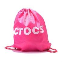 Crocs - תיק ים ורוד עם שרוכים