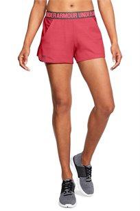 מכנסי אימון לאישה UNDER ARMOUR עם חגורה אלסטית והדפס דגם 1305421 במגוון צבעים לבחירה