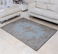 שטיח איכותי באריגת ג'אקרד EPITOME-BLUE תוצרת הודו במגוון גדלים