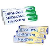 מחיר מיוחד! מארז 6 יחידות של משחות שיניים SENSODYNE כולל משלוח עד הבית!