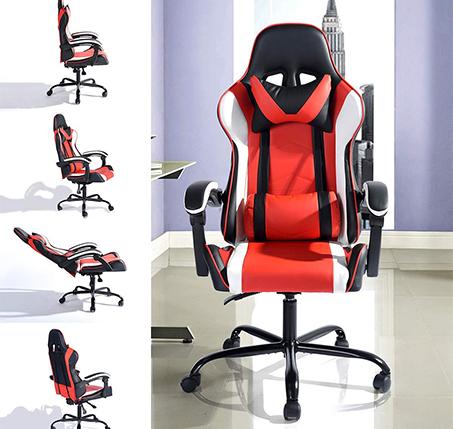 כיסא גיימר דגם וונטנה NF לבית או למשרד HOMAX - תמונה 8