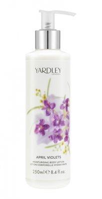Yardley Moisturising Body Lotion Aprail Violets