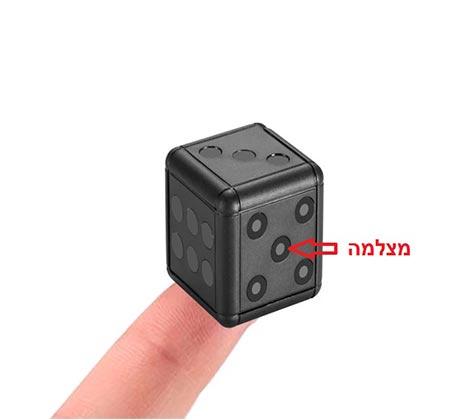 מצלמת וידאו נסתרת זעירה בקוביית משחק עם תאורת לילה - משלוח חינם - תמונה 2