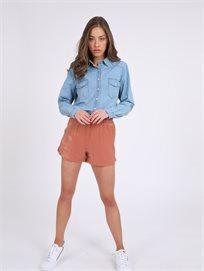 מכנסיים קצרים אמיל חום סטייל ריבר