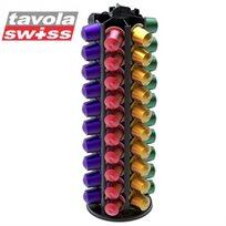 מעמד יוקרתי ל-60 קפסולות NESPRESSO מבית Tavola Swiss Vista