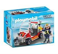 פליימוביל לוחם אש ורכב שטח + דמות פליימוביל מתנה!