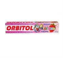 מארז 3 יחידות משחת שיניים לילדים בטעם תות Orbitol