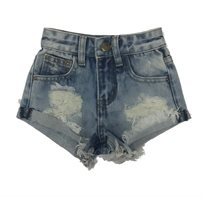 Oro/ שורט ג'ינס (16-2 שנים) -  כחול בהיר