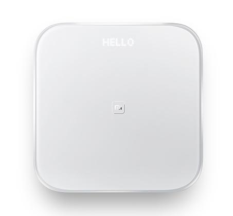 משקל חכם Xiaomi כולל Bluetooth מעקב בעזרת אפליקציה ותצוגת LED