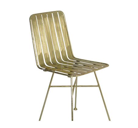 כיסא פינת אוכל צבע נחושת דגם שברון ביתילי