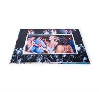 "Plana Album - אלבום בפתיחה שטוחה המודפס ע""ג נייר צילום בגודל A4 אנכי"