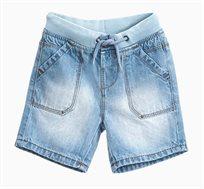מכנסי ג'ינס קצרים לתינוקות וילדים