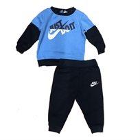 NIKE  חליפה (24-12 חודשים) - תכלת שילוב כחול