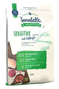 מזון לחתולים רגישים סנבל סנסטיב 4 ק''ג Sanabelle