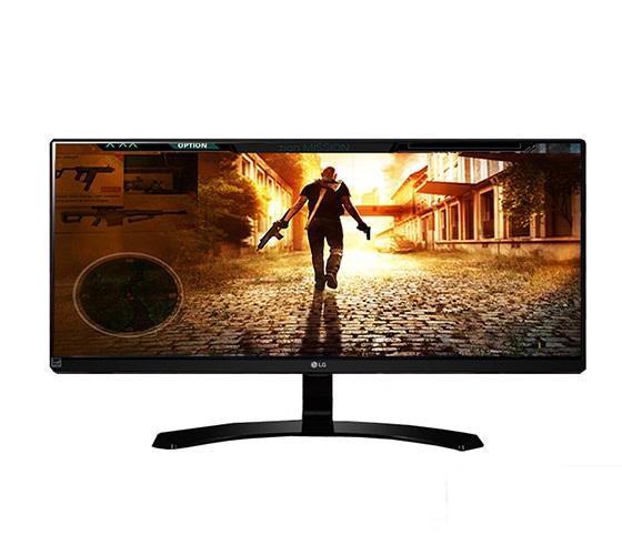 """מסך מחשב """"29 Ultra Wide מבית LG דגם 29UM68 כולל פאנל IPS וחיבור HDMI"""