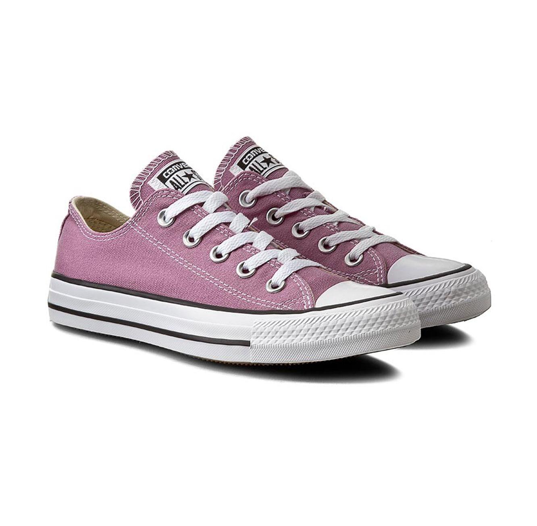 נעלי סניקרס נמוכות לנשים - סגול פודרה