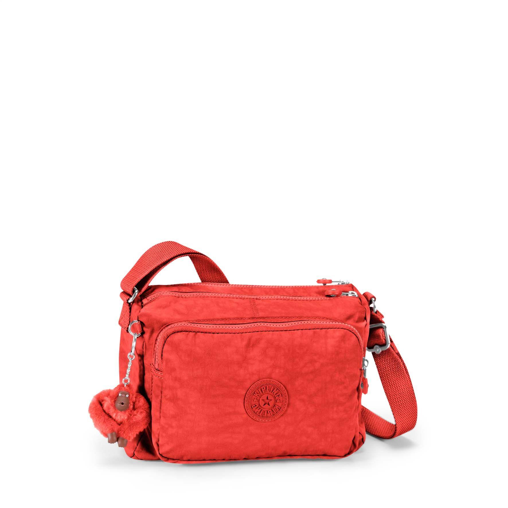 תיק כתף בינוני Reth - Happy Redאדום שמח