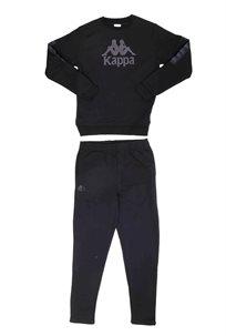 KAPPA נוער // חליפת ניקי שחור