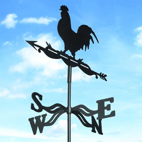 שבשבת רוחות מברזל עם דמות תרנגול לעיצוב הבית והגינה - משלוח חינם - תמונה 2