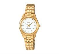 שעון יד אנלוגי קלאסי - זהב